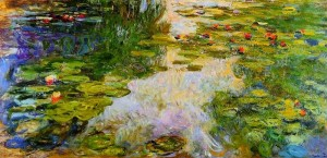 «Водяные лилии» – шедевр Клода Моне