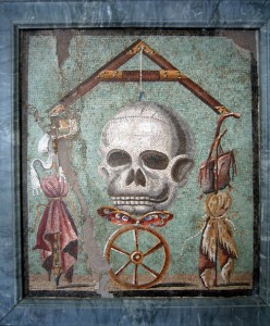 Античная мозаика. Помпеи.