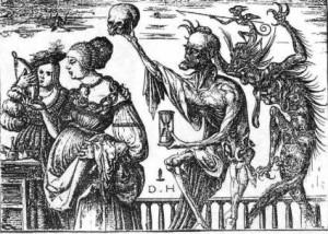 Д. Хопфер. Женщина, смерть и дьявол.