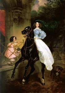 Карл Павлович Брюллов (1799-1852). «Всадница»