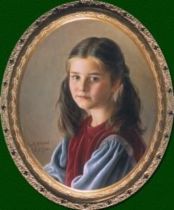 """Шилов. """"Портрет дочери"""""""
